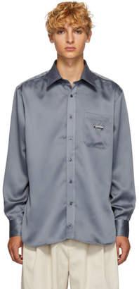 Ribeyron Grey Shiny Shirt