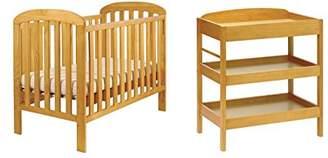 East Coast Nursery Cot Set, Antique, 2-Piece, 4365AC