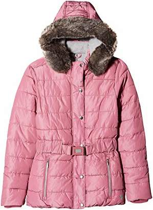 S'Oliver Girls' 73.809.51.2456 Jacket (Dark Pink AOP 43b6)