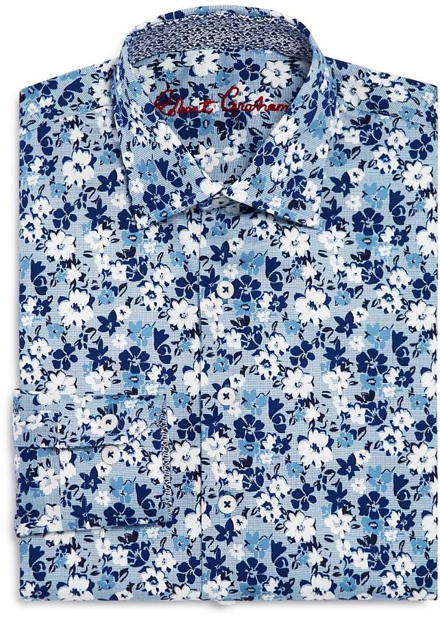 Boys' Floral Dress Shirt - Big Kid
