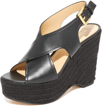 MICHAEL Michael Kors Angeline Wedges $150 thestylecure.com