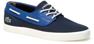 Lacoste Men's Jouer Deck Canvas Boat Shoes
