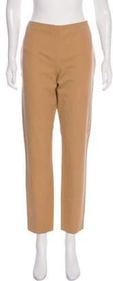 Lauren Ralph Lauren Mid-Rise Straight-Leg Pants
