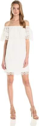 Ali & Jay Women's Off The Shoulder Short Mini Dress