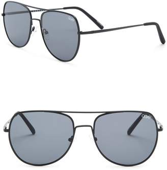Quay Men's Living Large 58mm Aviator Sunglasses