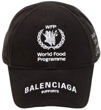 Balenciaga World Food Cotton Baseball Hat