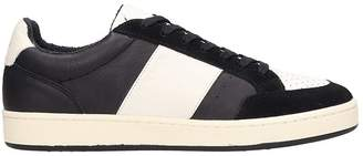 M.O.A. Master Of Arts M.O.A. master of arts Black-white Leather Sneakers