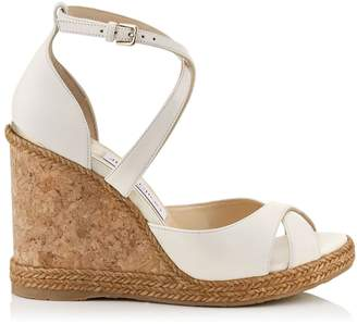 Jimmy Choo Alanah 105 Leather Wedges