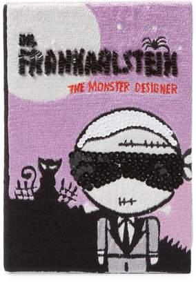 Mua Mua Dolls Women's Frankarlstein Book Book Clutch