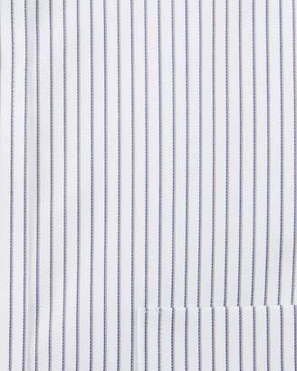 Neiman Marcus Men's Classic Fit Regular Finish Striped Dress Shirt
