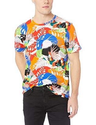 Robert Graham Men's Flying Crane Graphic Tshirt