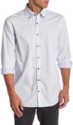 Lindbergh Long Sleeve Small Checkered Regular Fit Shirt