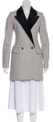 Smythe Structured Wool Coat w/ Tags