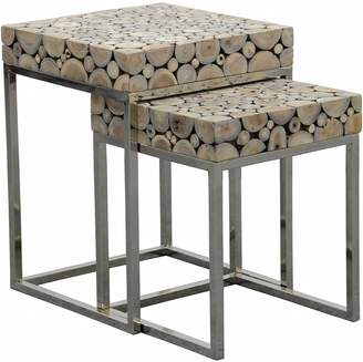 Kayu Estate Nesting Tables Banji Side Table (Set of 2)