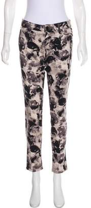 Sanctuary Printed Mid-Rise Jeans
