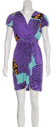 Tibi Sleeveless Printed Dress