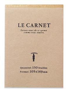 Le Carnet Pad - Large