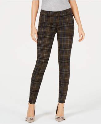 KUT from the Kloth Mia Plaid Skinny Jeans