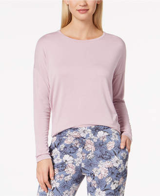 Alfani Knit Loose Pajama Top, Created for Macy's
