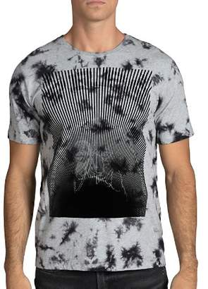 PRPS Goods & Co. Bustling Logo Graphic Tie-Dyed Tee