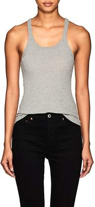 RE/DONE Women's Rib-Knit Cotton Tank
