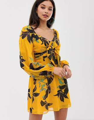 Talulah Day Lily print dress