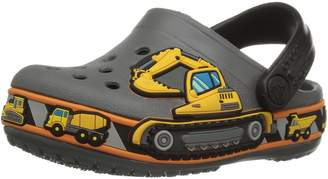Crocs Unisex-Baby Crocband Fun Lab Construction Graphic Clog