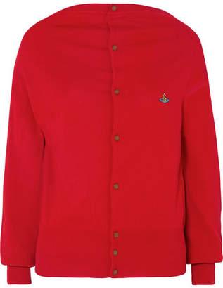 Vivienne Westwood - Embroidered Cotton Cardigan
