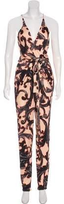 Issa Sleeveless Printed Jumpsuit