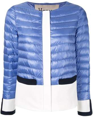 Herno panelled puffer jacket