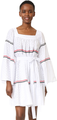 Lisa Marie Fernandez Short Peasant Dress $695 thestylecure.com