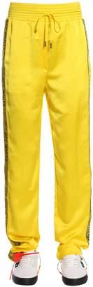 Off-White Off White Satin Pajama Trousers