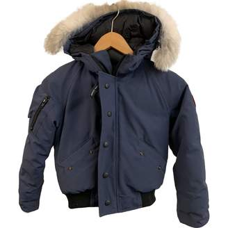 Canada Goose Blue Polyester Jacket & Coat