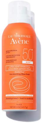 Eau Thermale Avene Ultra-Light Hydrating Sunscreen Lotion Spray SPF 50 for Body