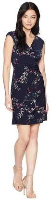Lauren Ralph Lauren Petite Adara Cap Sleeve Day Dress Women's Dress