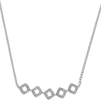 Carriere JEWELRY Diamond Shape Frontal Necklace