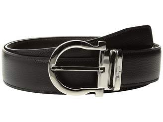 Salvatore Ferragamo Adjustable Reversible Belt - 679781
