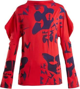 MATTY BOVAN Paint-print T-shirt