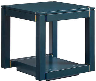 One Kings Lane Floating Parsons Side Table - Oceanic