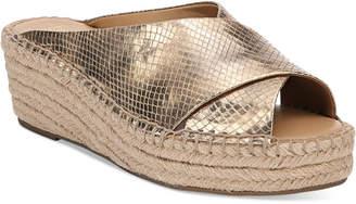Franco Sarto Polina Espadrille Platform Wedge Sandals, Created for Macy's