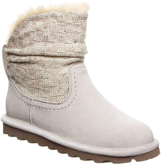 33d99095b768 BearPaw Womens Virginia Winter Boots Flat Heel Pull-on