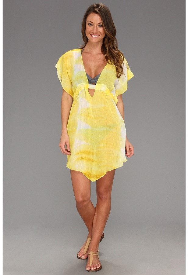 Becca by Rebecca Virtue - Mineral Springs Cover Up (Banana) - Apparel