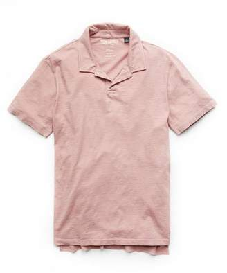 Todd Snyder Made in L.A. Montauk Polo in Dusty Pink