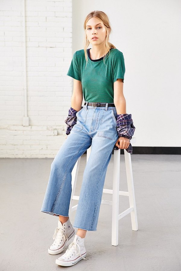 Truly Madly Deeply Boyfriend Ringer Tee
