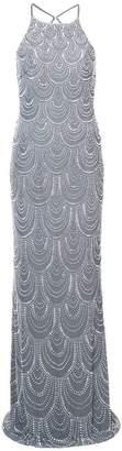 La Femme beaded embellished dress