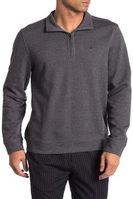 Calvin Klein Long Sleeve Quarter Zip Jacket