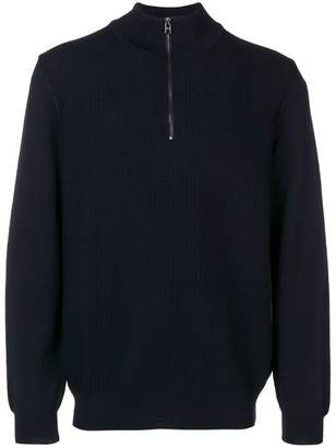 HUGO BOSS front zip sweater
