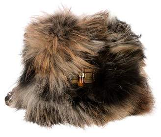 Lanvin Mini Pop Happy Fox Shoulder Bag