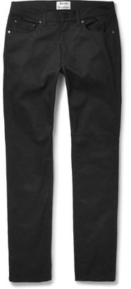 Acne Studios Ace Skinny-Fit Stretch-Denim Jeans $200 thestylecure.com