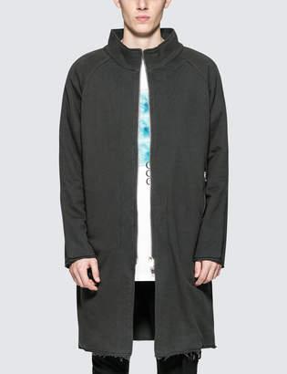 C2h4 Los Angeles Washed Long Zip-Up Sweatshirt